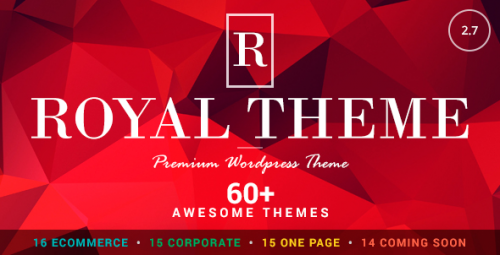 Download Nulled Royal v2.9 - Multi-Purpose WordPress Theme graphic