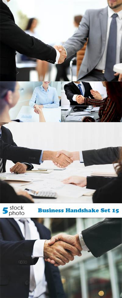 Photos - Business Handshake Set 15
