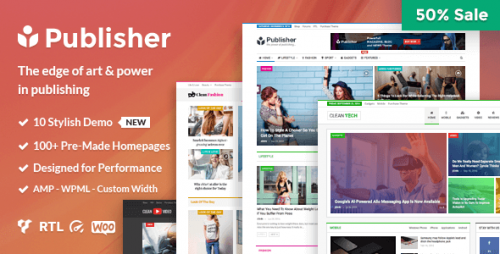 [GET] Nulled Publisher v1.6.1 - Magazine, Blog, Newspaper and Review