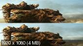 Без черных полос (На весь экран)  Варкрафт 3D / Warcraft 3D (Лицензия) Вертикальная анаморфная