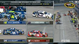 Автоспорт. NASCAR Sprint Cup 2016. плей-офф. раунд 1. этап 1. Чикаго [36th Studio] [10.09] (2016) HDTVRip 720p | 50fps
