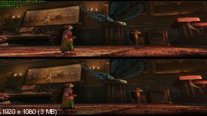 Алиса в Зазеркалье 3D / Alice Through the Looking Glass 3D  (Лицензия by Ash61) Вертикальная анаморфная стереопара