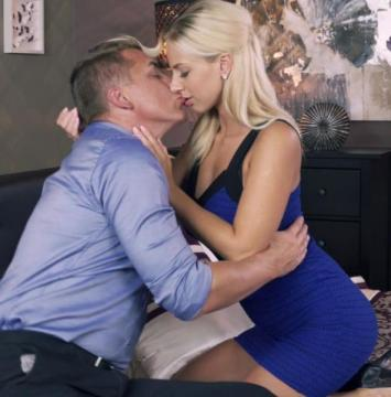 Nathaly Cherie, Steve - Romancing a perfect blonde MILF (2016) FullHD 1080p