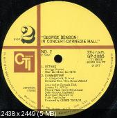 George Benson - In Concert - Carnegie Hall (1977) Japan Press
