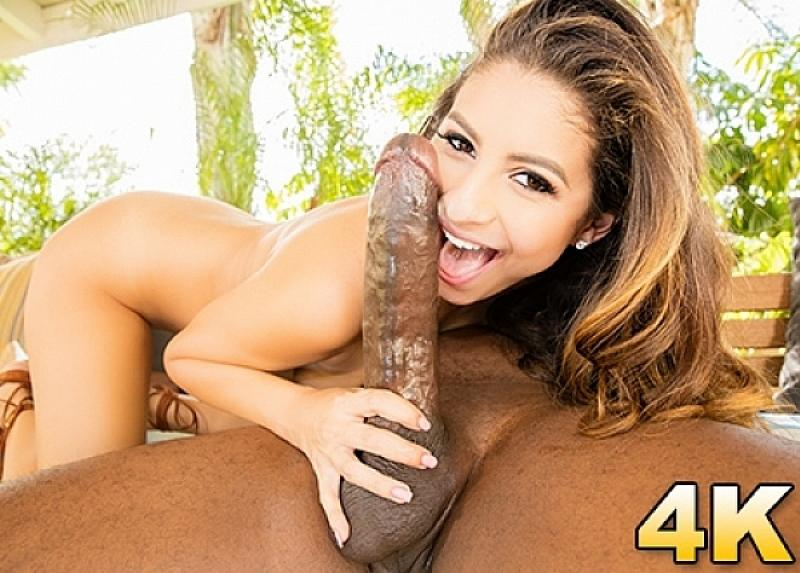 Hard daily updates scene interracial love Courtney's squinting
