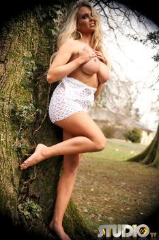 Erotica bright revelation softcore outdoor posing