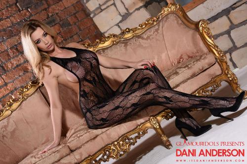set013 Dani In Sexy See Through Bodystockings 25.08.16